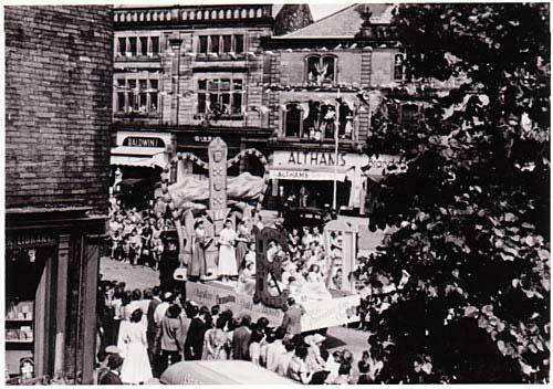Skipton Gala Procession 1953