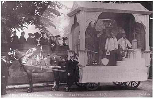 Hospital Gala Float 1907