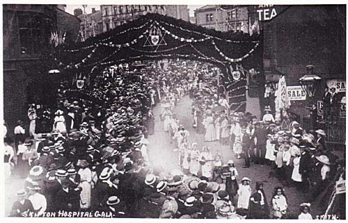 Skipton Hospital Gala Procession 1911