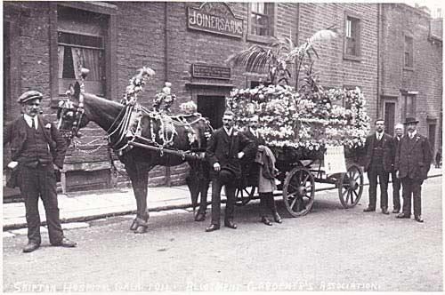 Skipton Hospital Gala Float 1914