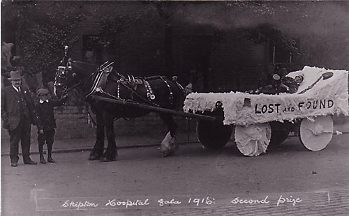 Skipton Hospital Gala Float 1916