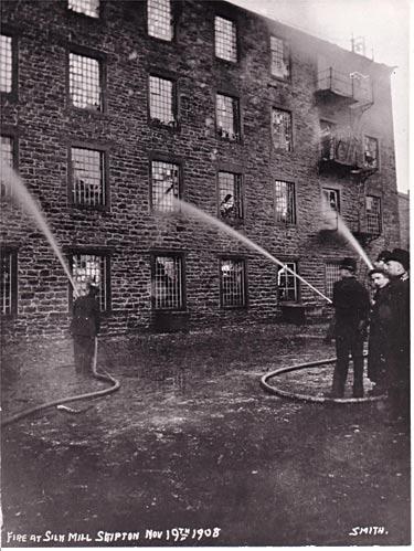 Silk Mill fire, 1908