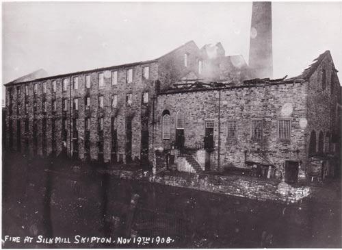 Silk Mill fire