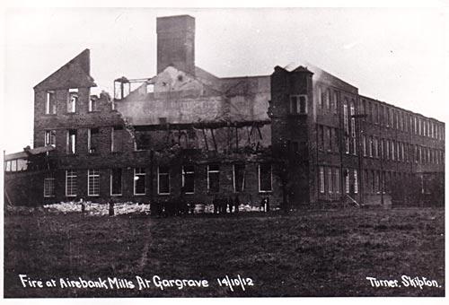 Airebank Mills fire
