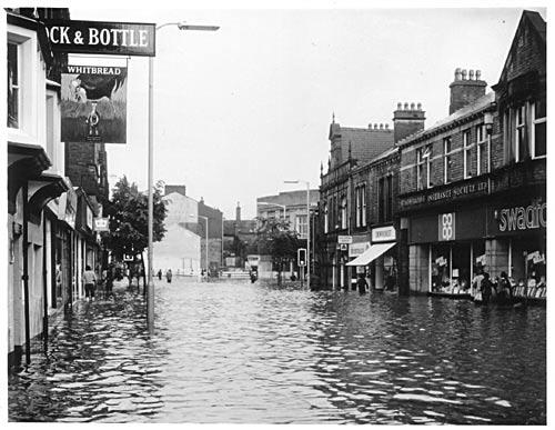 Flood, Swadford Street