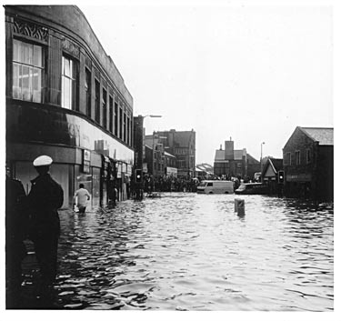 Flood, Keighley Road