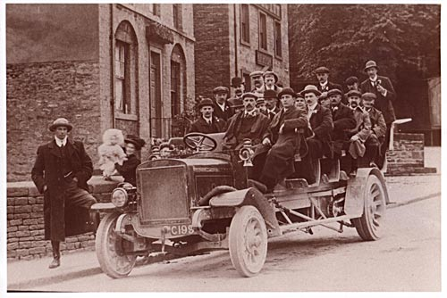 Charabanc outing ( Reg no C199)