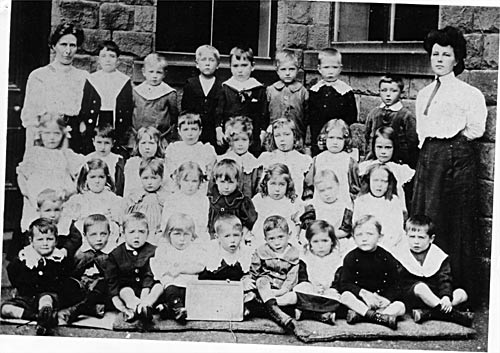 British School, Otley Street, 1908