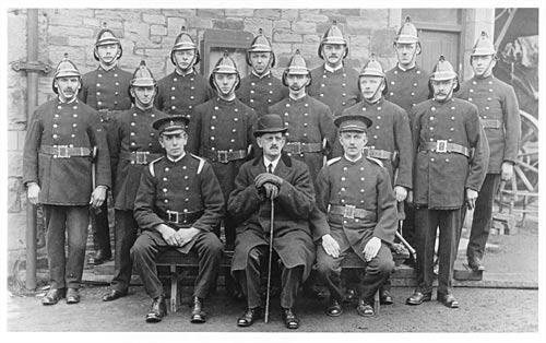 Skipton Fire Brigade, 1910