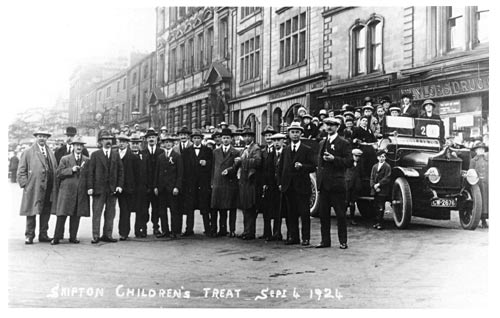 Skipton Children's Treat, 1924