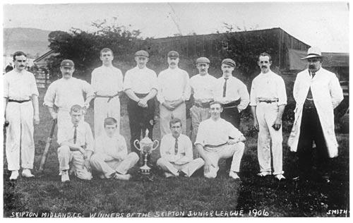 Skipton Midland Cricket Club 1906