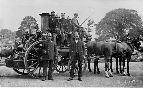 Skipton Fire Brigade 1905