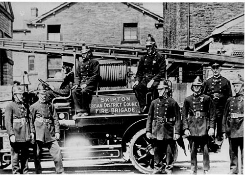 Skipton Urban District Council Fire Brigade 1924