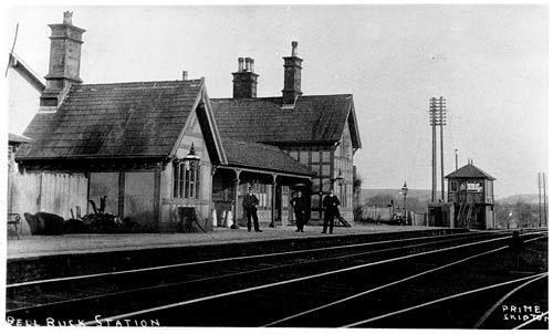 Bell Busk Station