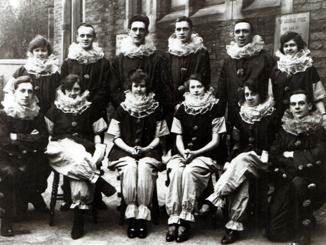 Group in fancy dress